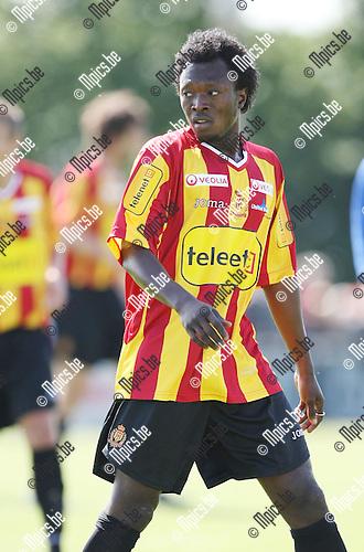 2009-06-24 / Voetbal / KV Mechelen seizoen 2009-2010 / Abdul-Yakinu Iddi..Foto: Maarten Straetemans (SMB)