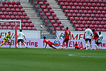 Florian Müller / Florian Mueller (FSV Mainz 05 #01) Leonardo Bittencourt  (Werder Bremen #10), Joshua Sargent (Werder Bremen #19)Jeremiah St. Juste (FSV Mainz 05 #04)<br /> <br /> <br /> Sport: nphgm001: Fussball: 1. Bundesliga: Saison 19/20: 33. Spieltag: 1. FSV Mainz 05 vs SV Werder Bremen 20.06.2020<br /> <br /> Foto: gumzmedia/nordphoto/POOL <br /> <br /> DFL regulations prohibit any use of photographs as image sequences and/or quasi-video.<br /> EDITORIAL USE ONLY<br /> National and international News-Agencies OUT.