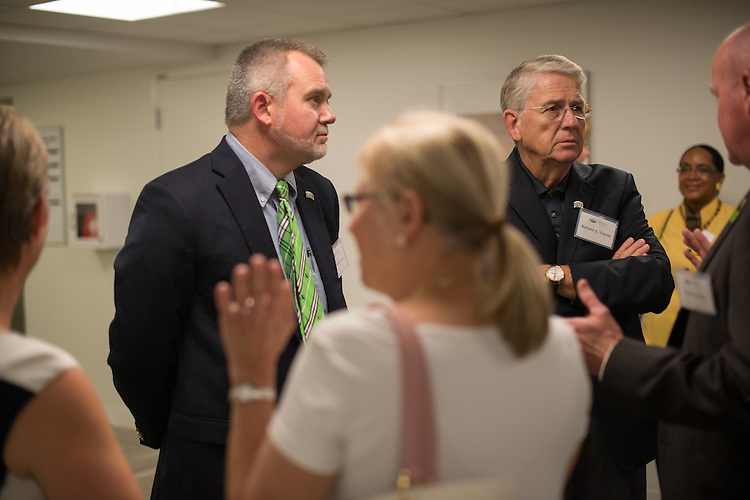 Heritage College of Osteopathic Medicine Cleveland Reception. © Ohio University / Photo by Ben Siegel