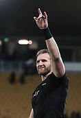 9th September 2017, Yarrow Stadium, New Plymouth. New Zealand; Supersport Rugby Championship, New Zealand versus Argentina; New Zealands Kieran Read after the match