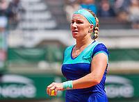 France, Paris , May 26, 2015, Tennis, Roland Garros, Svetlana Kuznetsova (RUS)<br /> Photo: Tennisimages/Henk Koster