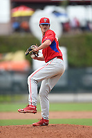 Philadelphia Phillies pitcher Jason Zgardowski (59) during a minor league spring training intrasquad game on March 27, 2015 at the Carpenter Complex in Clearwater, Florida.  (Mike Janes/Four Seam Images)