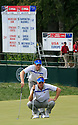 IAN POULTER of the European Ryder Cup Team & JUSTIN ROSE of the European Ryder Cup Teamduring the friday afternoon fourballs of the 37th Ryder Cup Matches, September 16 - 21, 2008 played at Valhalla Golf Club, Louisville, Kentucky, USA ( Picture by Phil Inglis ).... ......