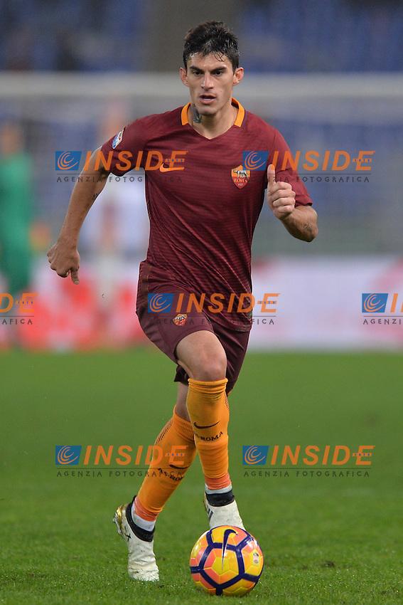 Diego Perotti Roma.<br /> Roma 27-11-2016  Stadio Olimpico<br /> Campionato Serie A,<br /> AS Roma - Pescara<br /> Foto Antonietta Baldassarre / Insidefoto