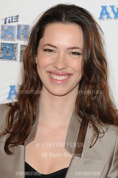 Rebecca Hall arriving for the South Bank Show Awards 2010, the last ever, at the Dorchester Hotel.  26/01/2010  Picture by: Steve Vas / Featureflash