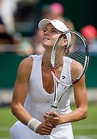 25-6-08, England, Wimbledon, Tennis, Kirilenko