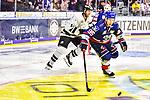 Mark Katic (Nuernberg) beim Spiel in der DEL, Adler Mannheim (blau) - Nuernberg Ice Tigers (weiss).<br /> <br /> Foto © PIX-Sportfotos *** Foto ist honorarpflichtig! *** Auf Anfrage in hoeherer Qualitaet/Aufloesung. Belegexemplar erbeten. Veroeffentlichung ausschliesslich fuer journalistisch-publizistische Zwecke. For editorial use only.