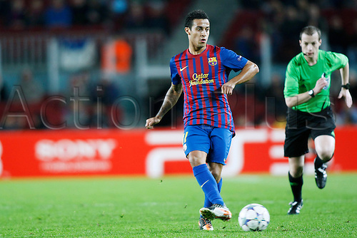 Thiago Alcantara (Barcelona), DECEMBER 6, 2011 - Football / Soccer : UEFA Champions League Group H match between FC Barcelona 4-0 Bate Borisov at Camp Nou stadium in Barcelona, Spain.