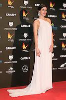 Nerea Barros attends the Feroz Cinema Awards 2015 at Las Ventas, Madrid,  Spain. January 25, 2015.(ALTERPHOTOS/)Carlos Dafonte) /NortePhoto<br /> <br /> nortePhoto.com