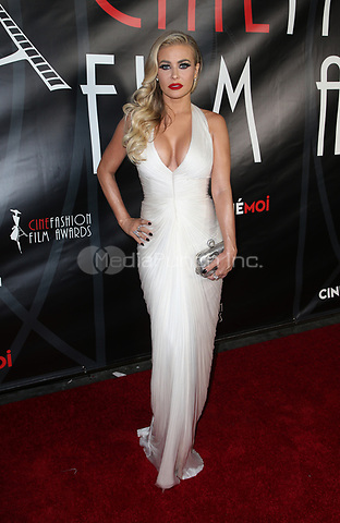 HOLLWOOD, CA - October 08: Carmen Electra, At 4th Annual CineFashion Film Awards At On El Capitan Theatre In California on October 08, 2017. Credit: FayeS/MediaPunch