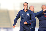 20 May 2014: U.S. and Carolina assistant coach Dewan Bader. The Under-20 United States Men's National Team played a scrimmage against a team composed of players from the Carolina RailHawks and the Capital Area RailHawks Academy Under-18 squad WakeMed Stadium in Cary, North Carolina. The combined RailHawks team won the game 2-1.