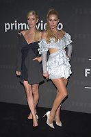 BROOKLYN, NY - SEPTEMBER 10: Nicky Hilton and Paris Hilton at Rihanna's second annual Savage X Fenty Show at Barclay's Center in Brooklyn, New York City on September 10, 2019. Credit: John Palmer/MediaPunch