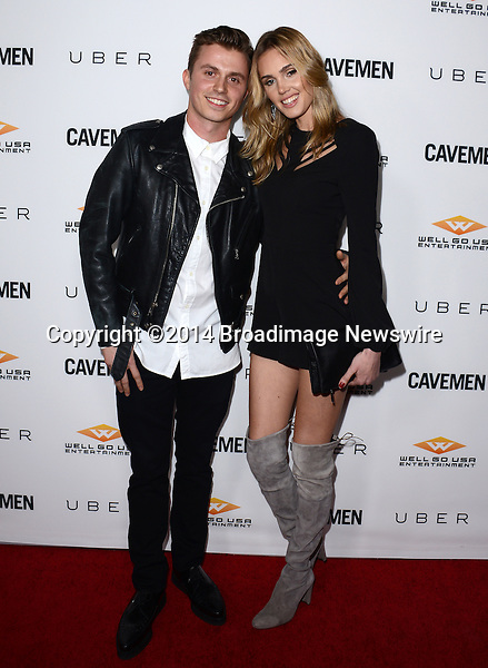 Pictured: Kenny Wormaland, Danielly Silva<br /> Mandatory Credit: Luiz Martinez / Broadimage<br /> CAVEMAN Los Angeles Premiere<br /> <br /> 2/5/14, Hollywood, California, United States of America<br /> Reference: 020514_LMLA_BDG_059<br /> <br /> sales@broadimage.com<br /> Bus: (310) 301-1027<br /> Fax: (646) 827-9134<br /> http://www.broadimage.com