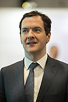 © Joel Goodman - 07973 332324 . 13/06/2016 . Liverpool , UK . Chancellor of the Exchequer , GEORGE OSBORNE , arrives to speak at the International Festival for Business at the Liverpool Exhibition Centre . Photo credit : Joel Goodman
