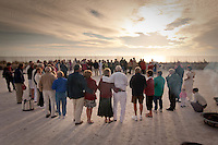 Love at Lovers Key. Thirty-two couples take part in first annual Renewal of Vows at Lovers Key State Park, Fort Myers Beach, Florida. Photo by Debi Pittman Wilkey