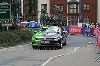 An emergency replacement cycle vehicle during the Abergavenny Festival of Cycling &quot;Grand Prix of Wales&quot; race on Sunday 17th 2016<br /> <br /> <br /> Jeff Thomas Photography -  www.jaypics.photoshelter.com - <br /> e-mail swansea1001@hotmail.co.uk -<br /> Mob: 07837 386244 -