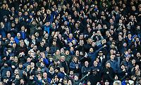 Everton fans cheer<br /> <br /> Photographer Alex Dodd/CameraSport<br /> <br /> Emirates FA Cup Third Round - Liverpool v Everton - Sunday 5th January 2020 - Anfield - Liverpool<br />  <br /> World Copyright © 2020 CameraSport. All rights reserved. 43 Linden Ave. Countesthorpe. Leicester. England. LE8 5PG - Tel: +44 (0) 116 277 4147 - admin@camerasport.com - www.camerasport.com