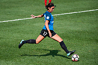 Kansas City, MO - Saturday September 9, 2017: Sydney Miramontez during a regular season National Women's Soccer League (NWSL) match between FC Kansas City and the Chicago Red Stars at Children's Mercy Victory Field.