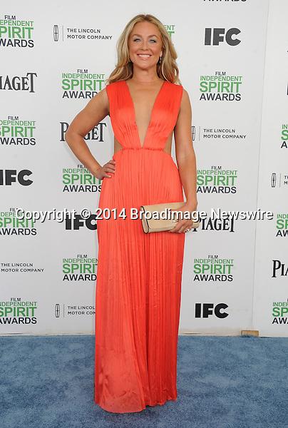 Pictured: Elisabeth Rohm<br /> Mandatory Credit &copy; Gilbert Flores/Broadimage<br /> 2014 Independent Spirit Awards<br /> <br /> 3/1/14, Santa Monica, California, United States of America<br /> <br /> Broadimage Newswire<br /> Los Angeles 1+  (310) 301-1027<br /> New York      1+  (646) 827-9134<br /> sales@broadimage.com<br /> http://www.broadimage.com
