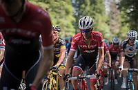 Alberto Contador (ESP/Trek-Segafredo)<br /> <br /> stage 7: Aoste &gt; Alpe d'Huez (168km)<br /> 69th Crit&eacute;rium du Dauphin&eacute; 2017