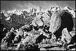 Mt. Whitney and Boulders<br /> Alabama Hills National Recreation Area, California