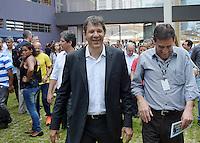 SÃO PAULO,SP 14.10.15 - HADDAD-SP - Fernando Haddad prefeito de São Paulo durante visita ao início das obras do Conjunto Habitacional Jardim Edite, na Rua: Charles Coulomb, 100 - Itaim Bibi, nesta quarta-feira,14. (Foto: Eduardo Carmim / Brazil Photo Press)
