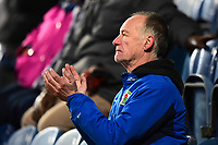 A Blackburn Rovers fan applauds<br /> <br /> Photographer Richard Martin-Roberts/CameraSport<br /> <br /> The EFL Sky Bet Championship - Blackburn Rovers v West Bromwich Albion - Tuesday 1st January 2019 - Ewood Park - Blackburn<br /> <br /> World Copyright &not;&copy; 2019 CameraSport. All rights reserved. 43 Linden Ave. Countesthorpe. Leicester. England. LE8 5PG - Tel: +44 (0) 116 277 4147 - admin@camerasport.com - www.camerasport.com