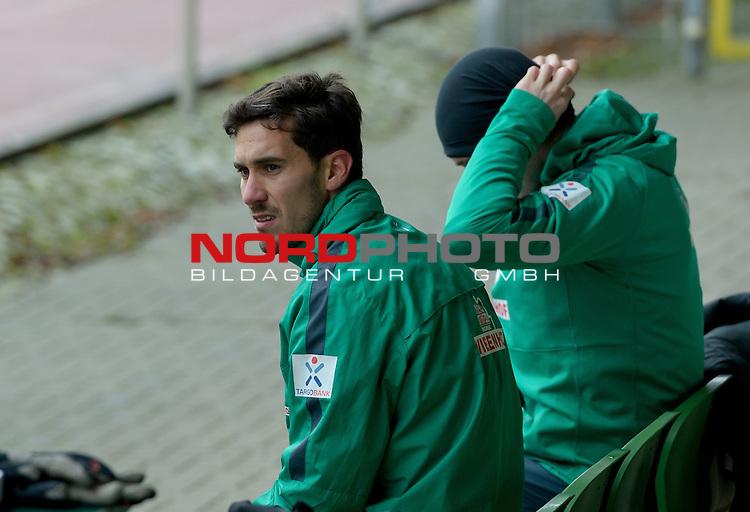 23.02.2015, Platz 11, Bremen, GER, 1.FBL, Laktattest Werder Bremen, im Bild Santiago Garcia (Bremen #2)<br /> <br /> Foto &copy; nordphoto / Frisch