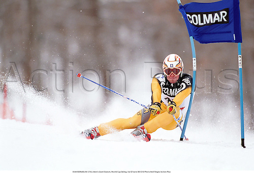 IVAN BORMOLINI (ITA), Men's Giant Slalom, World Cup Skiing, Val D'Isere 001210 Photo:Neil Tingle/Action Plus...2000.Snow.winter sport.winter sports.wintersport.wintersports.alpine.ski.skier.man