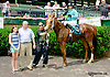 Little Often Anni winning at Delaware Park racetrack on 6/25/14