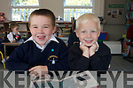 Already hitting the books at Blennerville National School were junior infants class who started school last week.