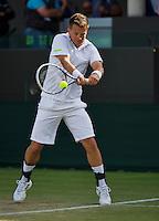England, London, 27.06.2014. Tennis, Wimbledon, AELTC, Martin Emmrich (GER)<br /> Photo: Tennisimages/Henk Koster