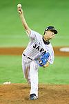 Yuji Nishino (JPN),<br /> NOVEMBER 15, 2014 - Baseball : <br /> 2014 All Star Series Game 3 between Japan 4-0 MLB All Stars <br /> at Tokyo Dome in Tokyo, Japan. <br /> (Photo by Shingo Ito/AFLO SPORT)[1195]