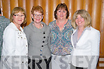 Pictured at the Kerry Parents and Friends fashion show in the Malton hotel, Killarney on Tuesday night were Kathleen Cahill, Eilish Culloty, Kay Fitzgerald and Kay Murphy, Barradubh.