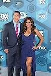 John Cena & Nikki Bella Red Carpet  - Fox Upfronts - May 16, 2016 at Wollman Rink, Central Park, New York City, New York. (Photo by Sue Coflin/Max Photos)