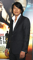 NEW YORK, NY - JANUARY 29: Sung Kang at the US film premiere of Warner Bros. Pictures Bullet To The Head at AMC Lincoln Square in New York City. January 29, 2013. Credit: RW/MediaPunch Inc.