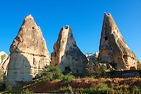 Fairy Chimneys near Göreme [ Goreme ]  , Cappadocia Turkey