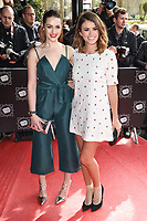 Anna Passey and Sophie Austin<br /> arrives for the T.R.I.C. Awards 2017 at the Grosvenor House Hotel, Mayfair, London.<br /> <br /> <br /> &copy;Ash Knotek  D3240  14/03/2017