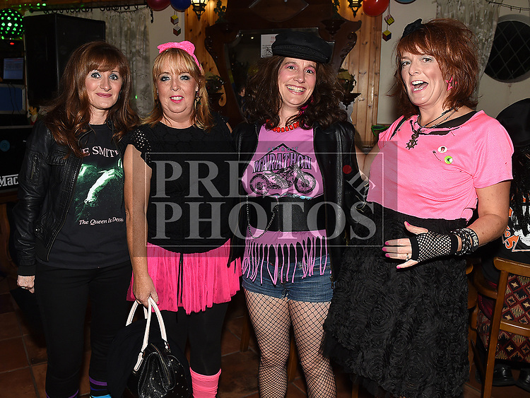 Sandra Callaghan, Martina Duff, Suzanne Bellew and Edel Gavin at the Oskars Night for Duleek Community facility held in the Carranstown Lodge. Photo:Colin Bell/pressphotos.ie