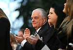 Surrounded by family, Gov. Steve Sisolak was sworn in as Nevada's 30th governor during his inauguration at the Capitol, in Carson City, Nev., on Monday, Jan. 7, 2019. (Cathleen Allison/Las Vegas Review-Journal)