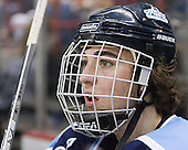 Billy Ryan in the penalty box - The University of Maine Black Bears defeated the Michigan State University Spartans 5-4 on Sunday, March 26, 2006, in the NCAA East Regional Final at the Pepsi Arena in Albany, New York.