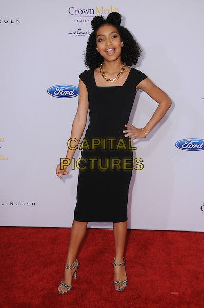 24 May 2016 - Beverly Hills, California - Yara Shahidi. Arrivals for the 41st Annual Gracies Awards held at Beverly Wilshire Hotel. <br /> CAP/ADM/BT<br /> &copy;BT/ADM/Capital Pictures
