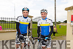 Matt Leahy and Mike Leahy Matt Leahy and Mike Leahy  at Pedal the peninsula  run by Sliabh Mish Spinners Cycling Club in association with Keel Palliative Care Fundraising Group and Keel GAA. on Sunday
