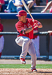 9 March 2014: St. Louis Cardinals infielder Kolten Wong in action during a Spring Training game against the Washington Nationals at Space Coast Stadium in Viera, Florida. The Nationals defeated the Cardinals 11-1 in Grapefruit League play. Mandatory Credit: Ed Wolfstein Photo *** RAW (NEF) Image File Available ***