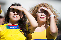 Action photo during the match Ecuador vs Haiti at MetLife Stadium Copa America Centenario 2016. ---Foto  de accion durante el partido Ecuador vs Haiti, En el Estadio MetLife Partido Correspondiante al Grupo - B -  de la Copa America Centenario USA 2016, en la foto: Fans<br /> <br /> -- 12/06/2016/MEXSPORT/Javier Ramirez.
