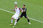 16th June 2018, Spartak Stadium, Moscow, Russia; FIFA World Cup Football, Group D, Argentina versus Iceland; Alfred Finnbogason, Marcos Rojo