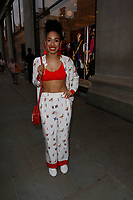LONDON, ENGLAND - MAY 31 :  Pearl Mackie arrives at the Kurt Geiger London Boutique launch at Selfridges on May 31, 2018 in London, England.<br /> CAP/AH<br /> &copy;Adam Houghton/Capital Pictures
