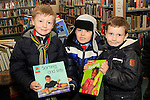 "Jake Hanratty, Cian McCole amd Ryan O'Connor from St.Patrick's NS at the ""Drogheda Counts"" workshop in the Library...Photo NEWSFILE/Jenny Matthews..(Photo credit should read Jenny Matthews/NEWSFILE)"