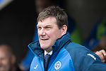 St Johnstone v Rangers&Ouml;21.05.17     SPFL    McDiarmid Park<br /> Saints boss Tommy Wright<br /> Picture by Graeme Hart.<br /> Copyright Perthshire Picture Agency<br /> Tel: 01738 623350  Mobile: 07990 594431