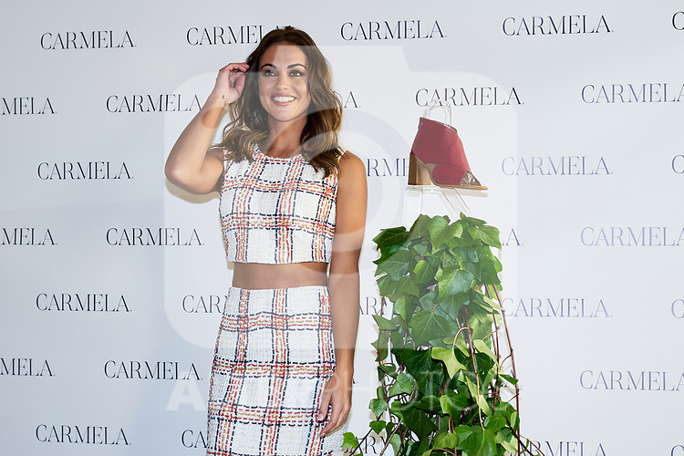 Lara Alvarez during the 'Carmela' shoes presentation at Taberna de los Gallos in Madrid, Spain. January 23, 2020. (ALTERPHOTOS/A. Perez Meca)